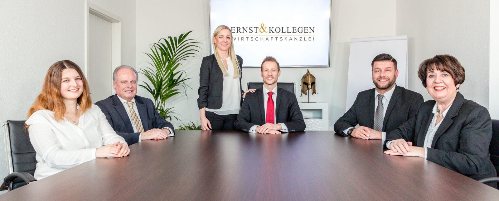 Ernst und Kollegen das Team